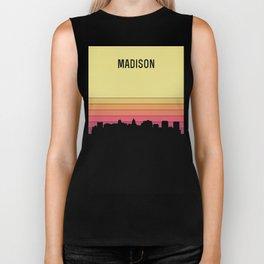 Madison Skyline Biker Tank