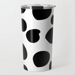 Big Black Spots Travel Mug