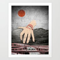 eternal sunshine Art Prints featuring Eternal Sunshine by Evan Beltran