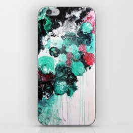 Floral Mist iPhone Skin