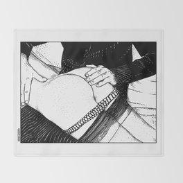 asc 488 - Les mains chaudes (Until his hands burn) Throw Blanket