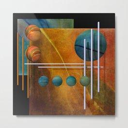 geometric decoration -2- Metal Print