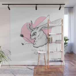 Let's Jack Elope Wall Mural