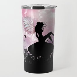 Fairy Silhouette Travel Mug