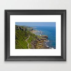 伊江島 Iejima Coastline Framed Art Print