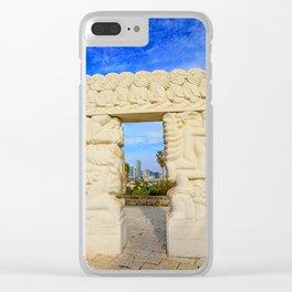 Gate of Faith Clear iPhone Case