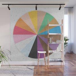 Rainbow Wheel of Inclusivity Wall Mural