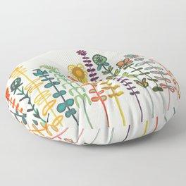 Happy garden Floor Pillow