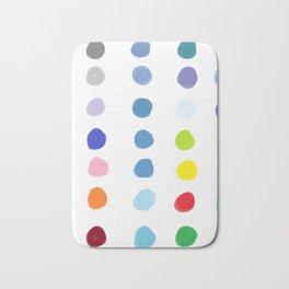 Color Palette Bath Mat