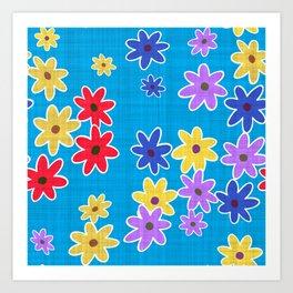 Floral Pattern New Art Print