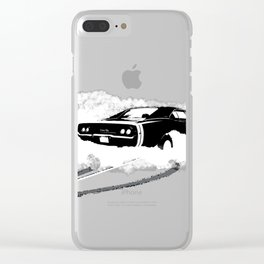 Charger R/T Clear iPhone Case