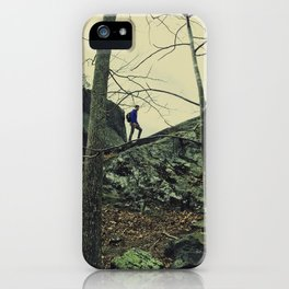 The Climber iPhone Case