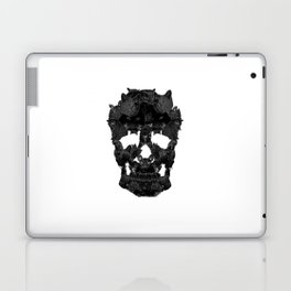 Sketchy Cat skull Laptop & iPad Skin