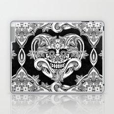 Crazy Heart BW Laptop & iPad Skin