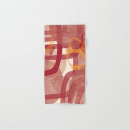 Another Geometry 3 Hand & Bath Towel