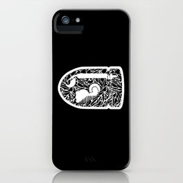 Bullet Bill #CrackedOutBadGuys iPhone Case