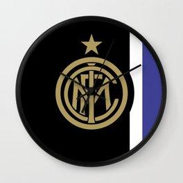 INTER MILAN Gold Wall Clock