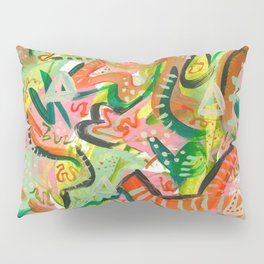 Acrylic Painting - Abstract 4 Pillow Sham