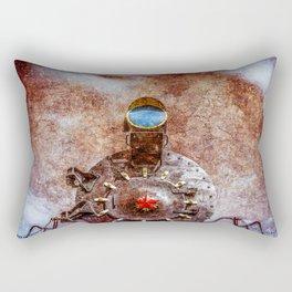 With Full Steam On Rectangular Pillow