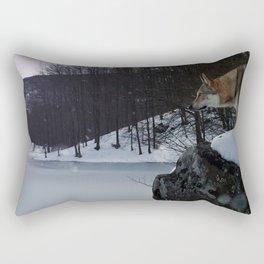 Artic time Rectangular Pillow