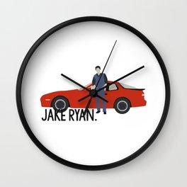 Jake Ryan 16 Candles Wall Clock