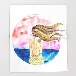 Sirena Tahina Throw Blanket