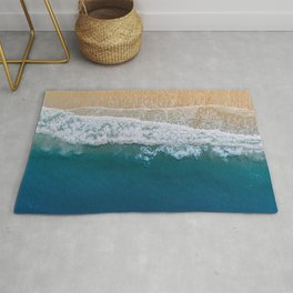 Water on the Beach (Color) Rug