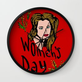Women's Day Wall Clock