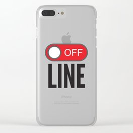Offline Clear iPhone Case