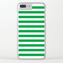 Saudi Arabia Norfolk Island flag stripes Clear iPhone Case