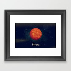 Hermes / Mercure Framed Art Print