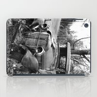 truck iPad Cases featuring Old Truck by WhyitsmeDesign