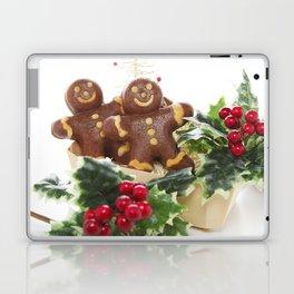 Gingerbread men 01 Laptop & iPad Skin