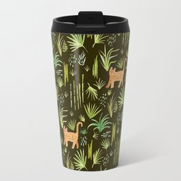 Jungle Cats Travel Mug