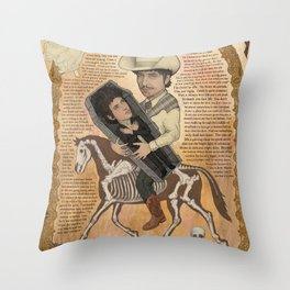 Bob Dylan - Find Out Something Only Dead Men Know Throw Pillow