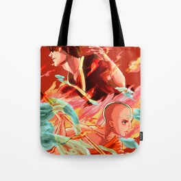 Avatar: Fire & Air Tote Bag