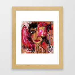 How could you … Framed Art Print