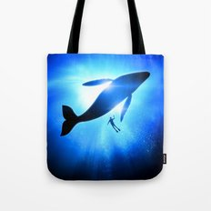 Whale Shine Tote Bag