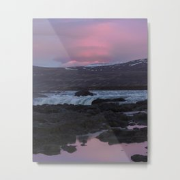 11pm Sunsets Metal Print