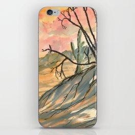 Southwestern Art Desert Painting iPhone Skin