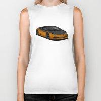 lamborghini Biker Tanks featuring Lamborghini Huracan by IrvSim