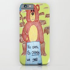 Sad bear & friend Slim Case iPhone 6s