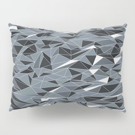 Geometric Summer Mountains Pillow Sham