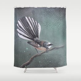 Fantail & Scallops Shower Curtain