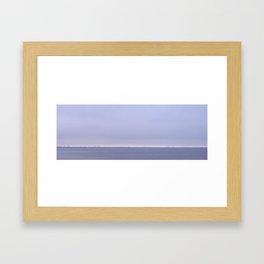 Barely Visible Framed Art Print