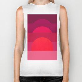 Abstraction_Sunset_001 Biker Tank