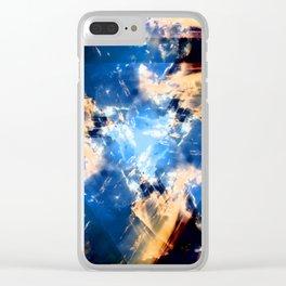A Space Oddity Clear iPhone Case