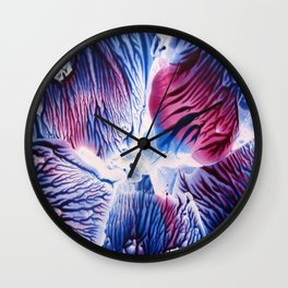 View from the Ocean Floor Wall Clock