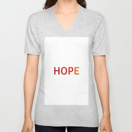 HOPE Unisex V-Neck