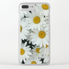 Daisy be me Clear iPhone Case
